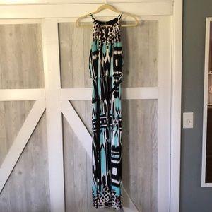 Roz & Ali patterned maxi dress